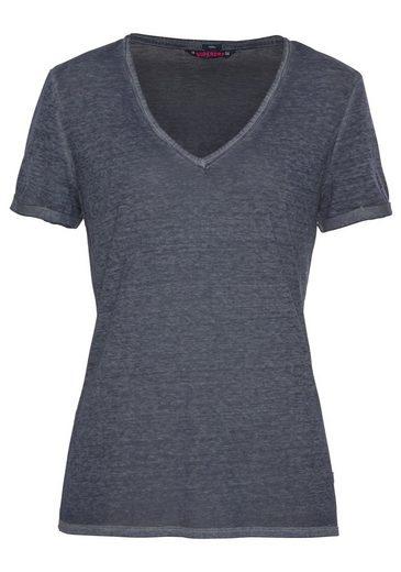 Vee V Burnout shirt optik In »burnout Superdry Tee« qtF6R6B