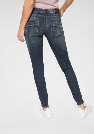 Zhrill Skinny-fit-Jeans »CLAIRE« im Used-Look