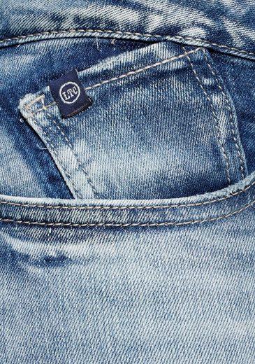 Modischer fit jeans Des Patch optik Le Skinny Cerises Waschung »powerc« Temps Mit In qXIxw8x4C