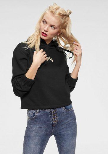 NA-KD Hoodie »637« Kapuzensweatshirt mit Logoprint