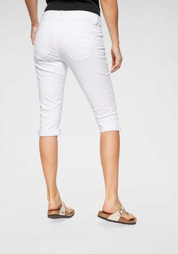 Q/S designed by 3/4-Jeans »Catie« mit offener Knopfleiste
