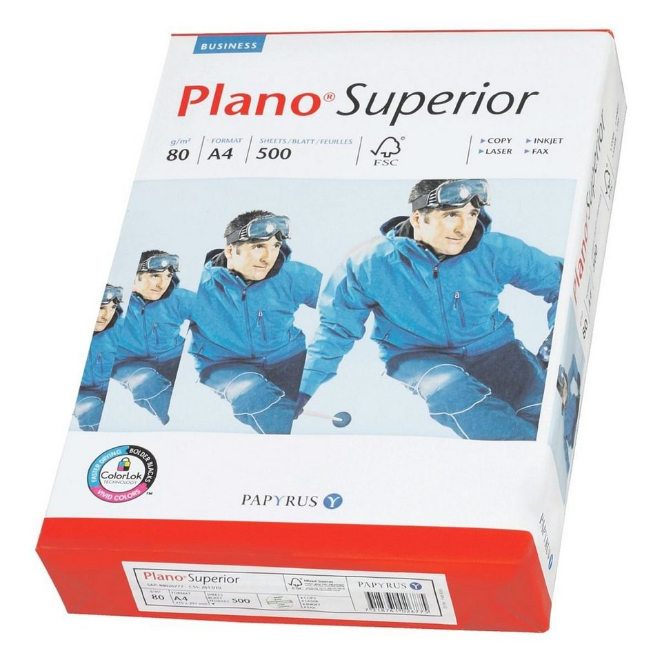 Plano Multifunktionales Druckerpapier »Superior«