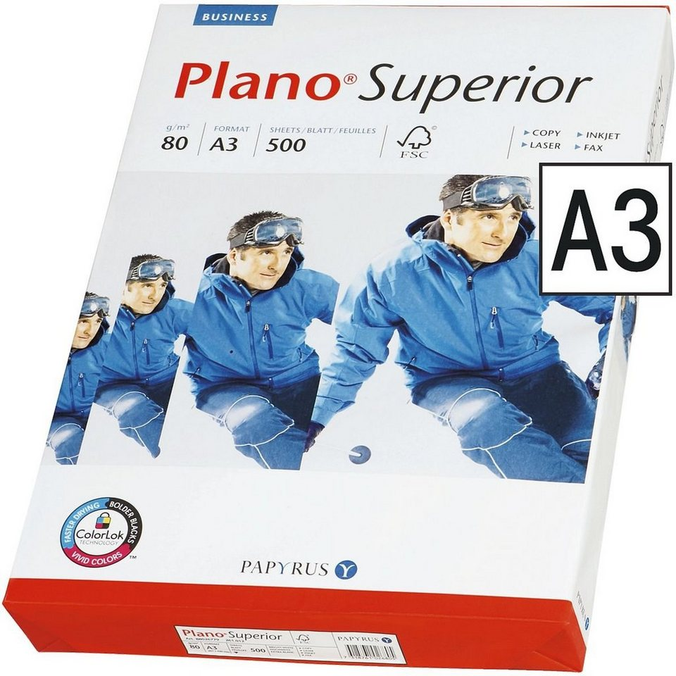 Plano Multifunktionales Druckerpapier »Superior«