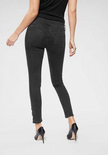Diesel Skinny-fit-Jeans »SLANDY ZIP« mit Reißverschlussdetails an den Beinabschlüssen