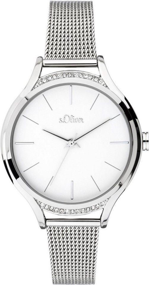 s.Oliver RED LABEL Quarzuhr »SO-3694-MQ« | Uhren > Quarzuhren | s.Oliver RED LABEL