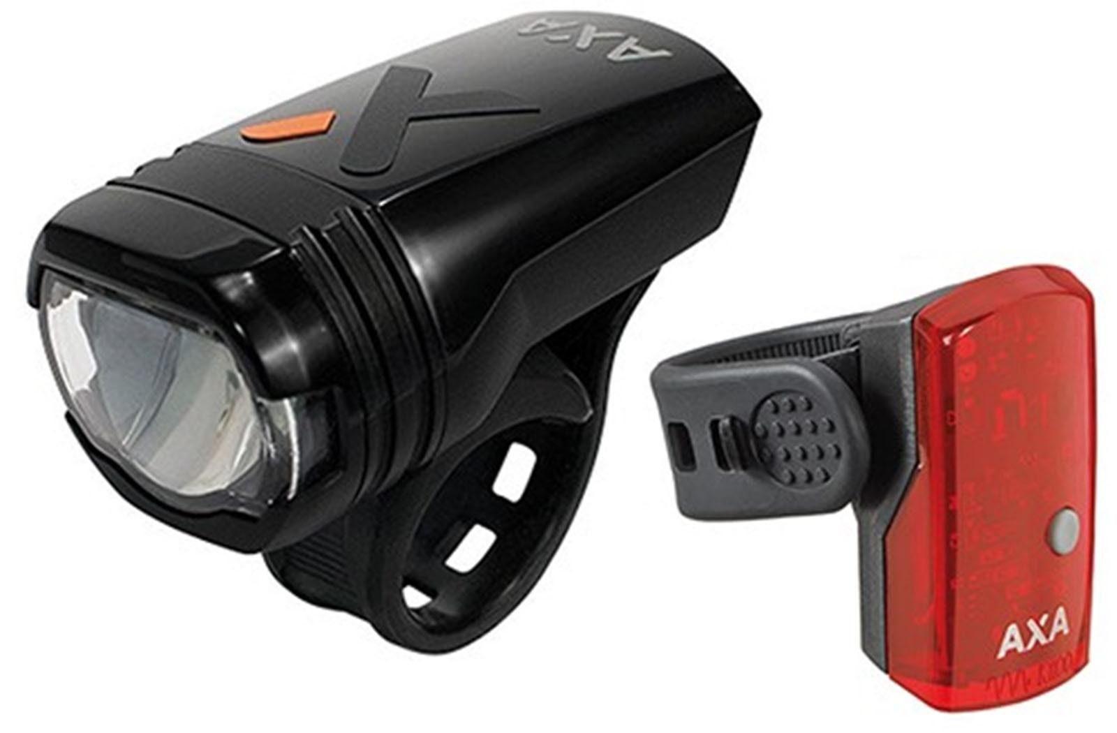 AXA Fahrradbeleuchtung »GreenLine50« (Front- und Rücklicht)