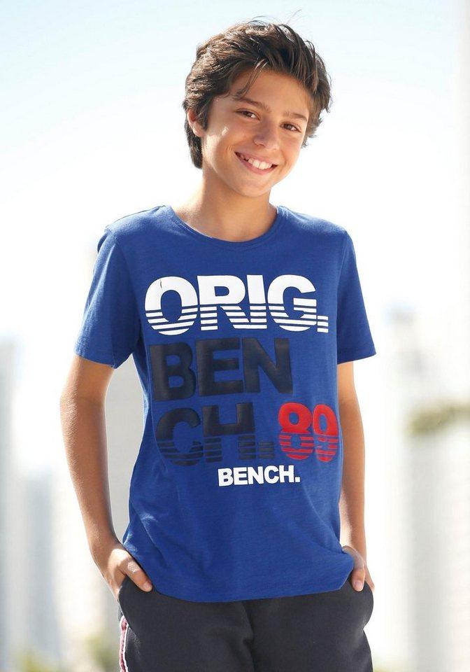 online Shop Neuankömmling niedrigerer Preis mit Bench. T-Shirt mit tollem Logodruck online kaufen | OTTO