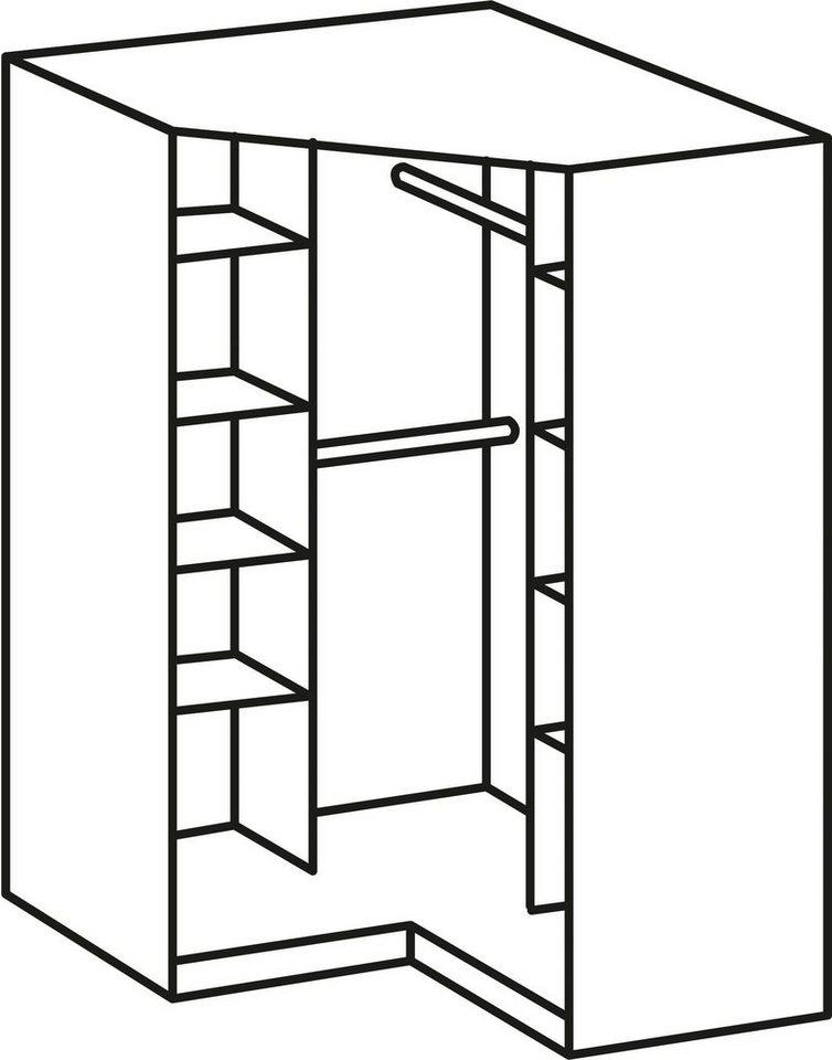 wimex eckkleiderschrank click mit spiegelt ren online kaufen otto. Black Bedroom Furniture Sets. Home Design Ideas