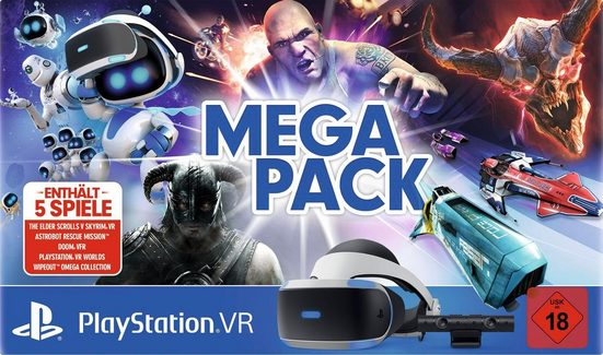PlayStation 4 »VR + Kamera + 5 Spiele (Voucher)« Controller