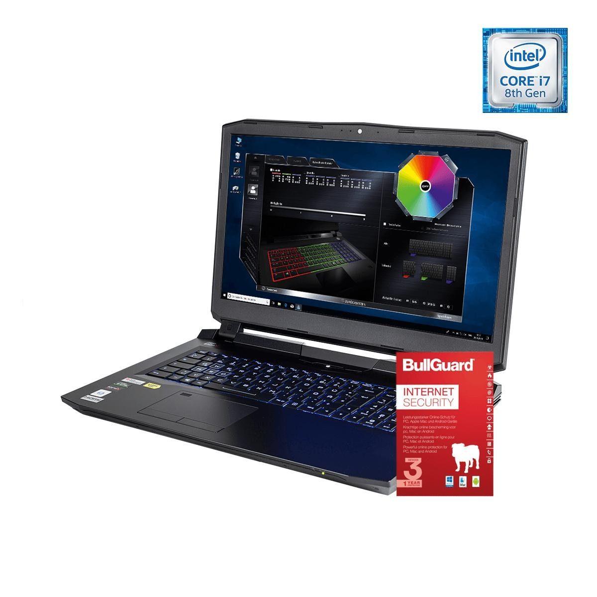 ONE GAMING Notebook, Core i7-8700K, GeForce GTX 1080, 8GB DDR4 RAM »NB 44915«