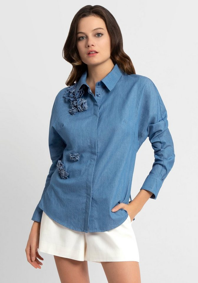 Apart Jeansbluse