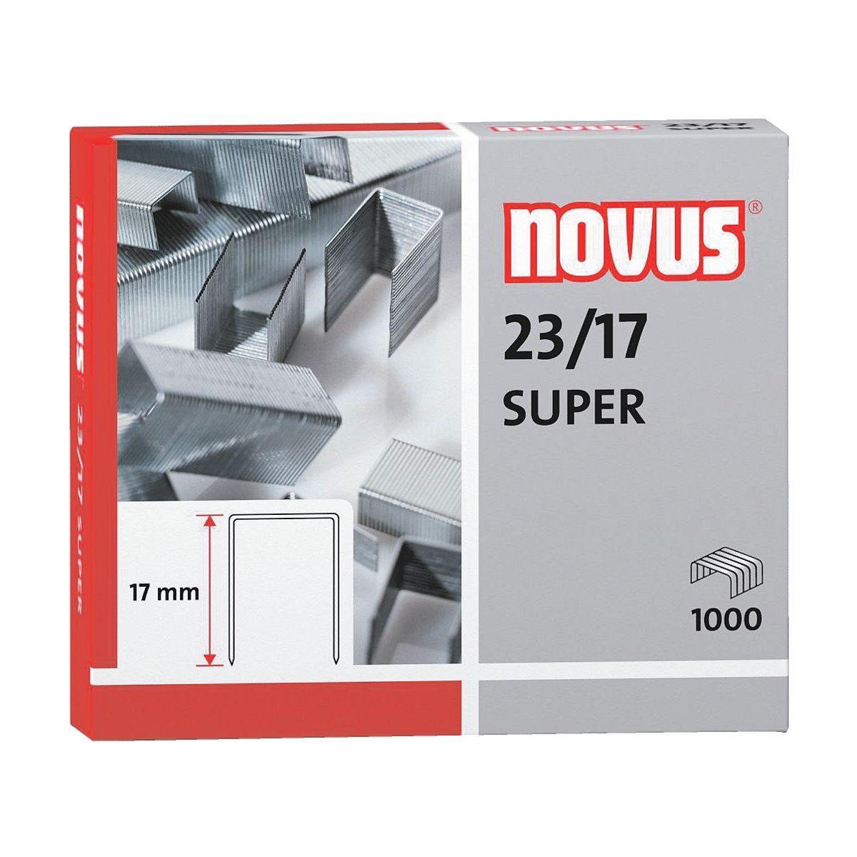 Novus Heftklammern für Blockhefter