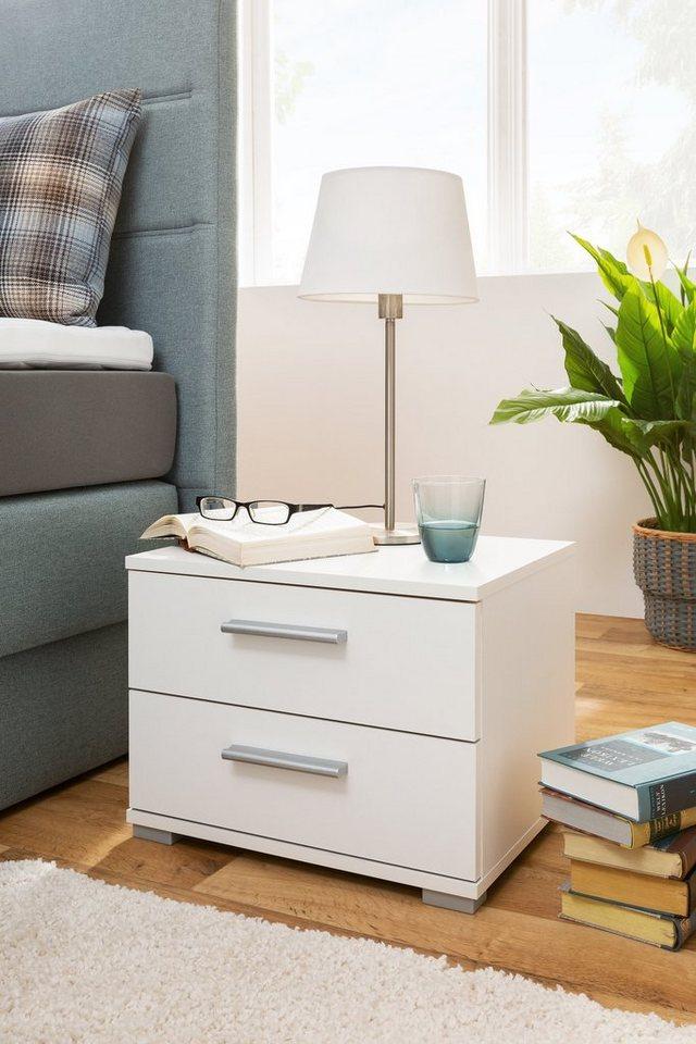 HTI-Living Nachttisch »e- Elora« | Schlafzimmer > Nachttische | Weiß | HTI-Living