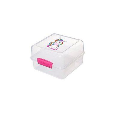 sistema sistema Lunch Box EINHORN To Go, Clip pink