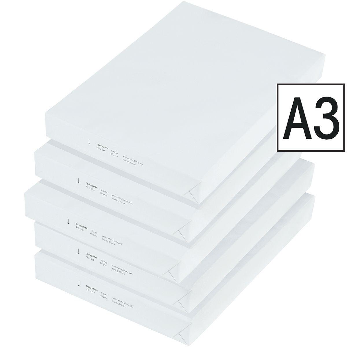 2500 Blatt A3-Kopierpapier