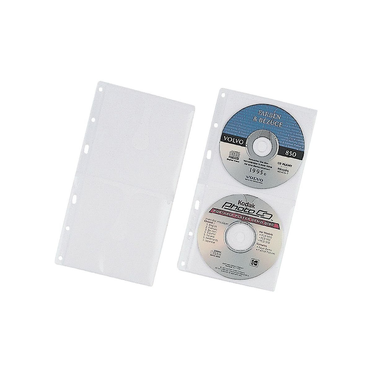 Durable CD/DVD/Blu-ray-Doppelhüllen