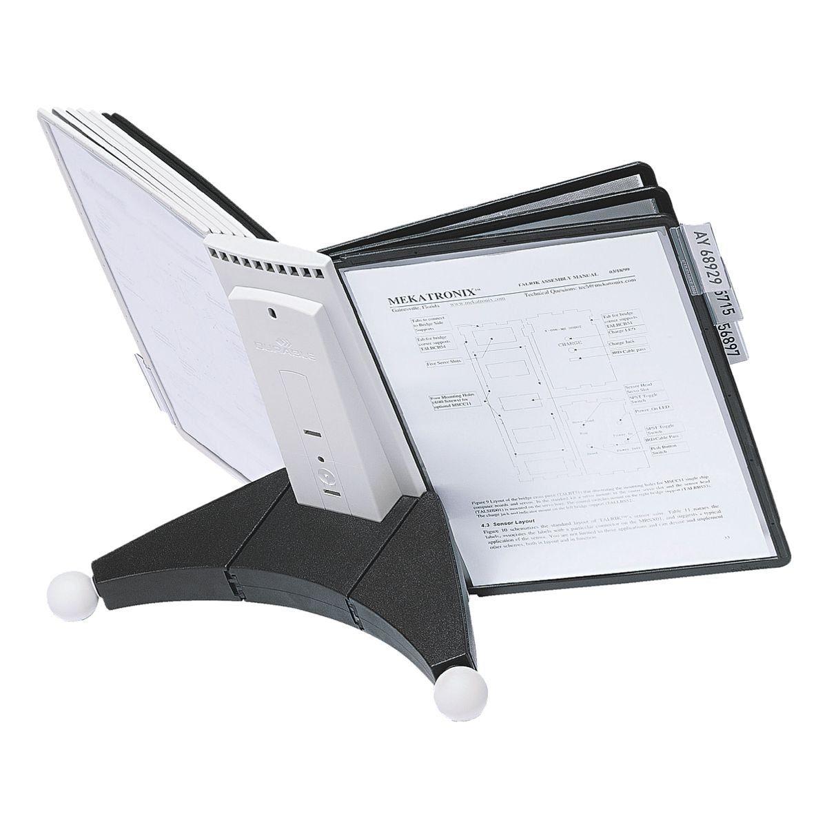 Durable Sichttafelständer »Sherpa® Desk Unit 10 563222«