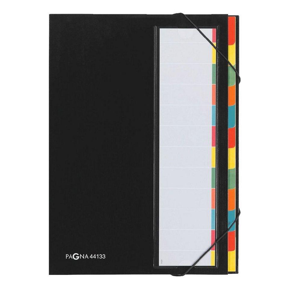 Pagna Ordnungsmappe »Desk Organizer« in schwarz