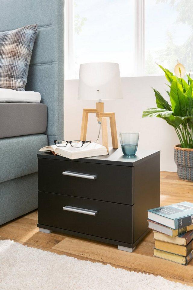 HTI-Living Nachttisch »e- Elora« | Schlafzimmer > Nachttische | Schwarz | HTI-Living