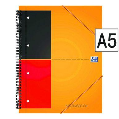 OXFORD Business Collegeblock A5 liniert, Premium-Papier »International Meetingbook«