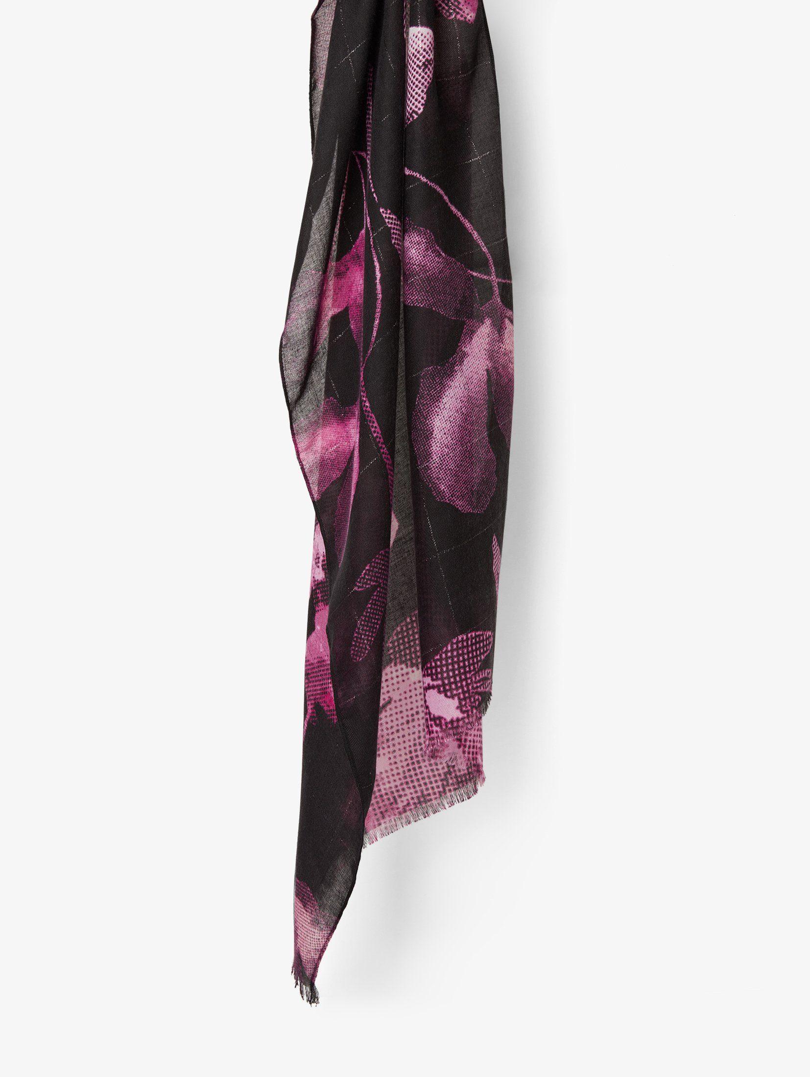 Tom Tailor Modeschal »Schal mit ganzflächigem Blumenmuster«