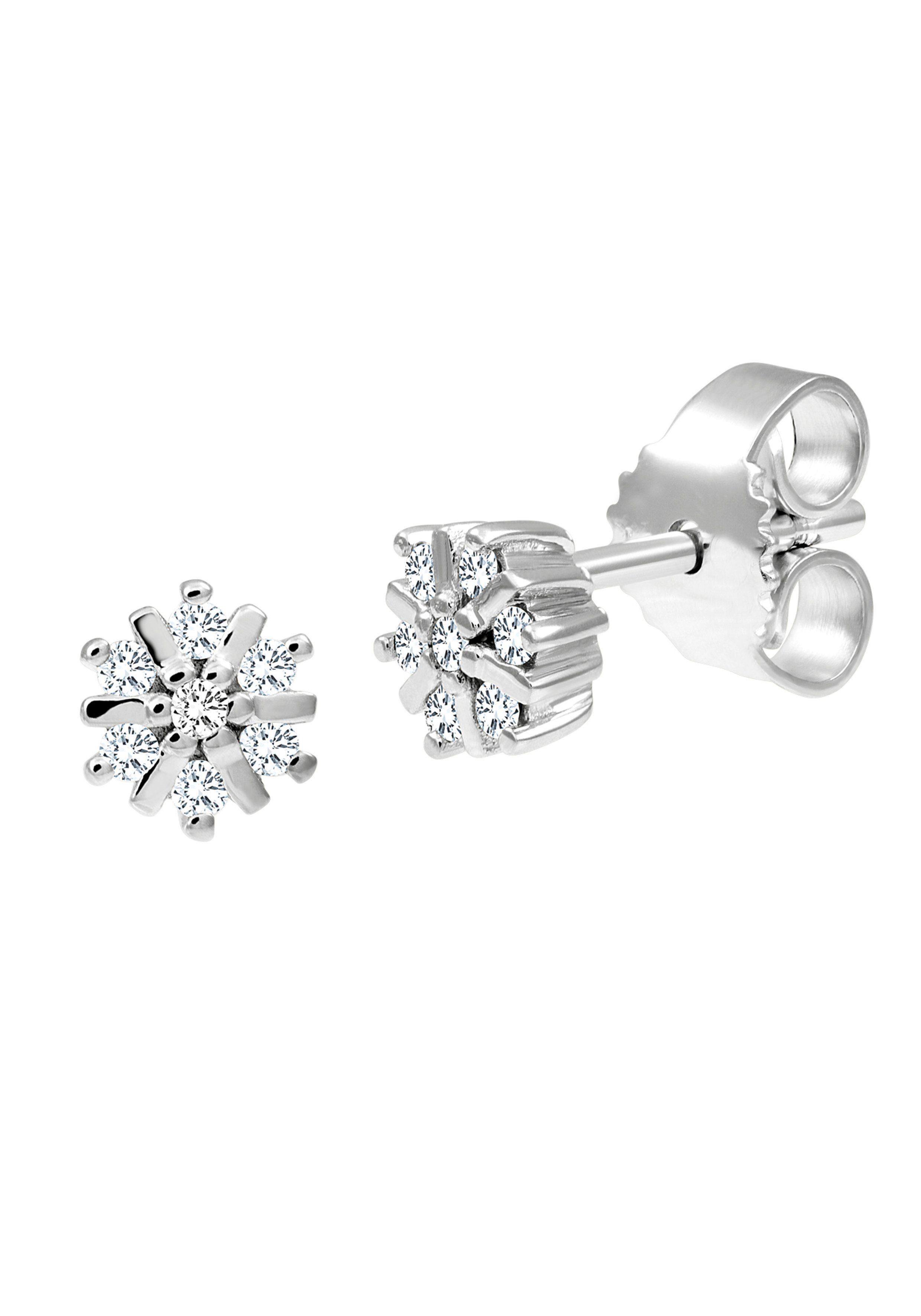 Diamond Line Ohrstecker mit edlen Diamanten