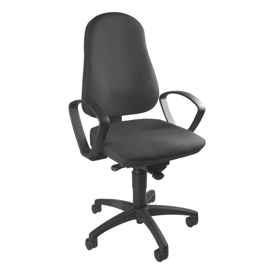 Topstar Bürostuhl »Balance 50« ohne Armlehnen in anthrazit