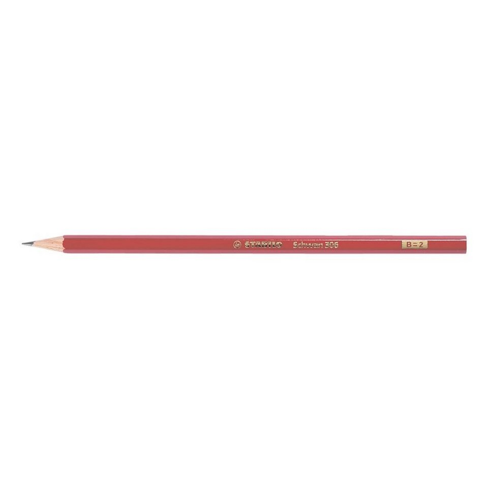 Stabilo Holz-Bleistift »Schwan« in härtegrad b