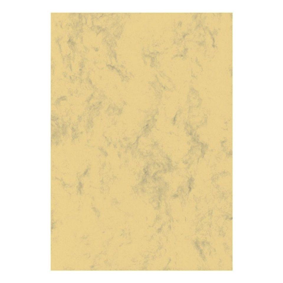 Sigel Marmorpapier in sand