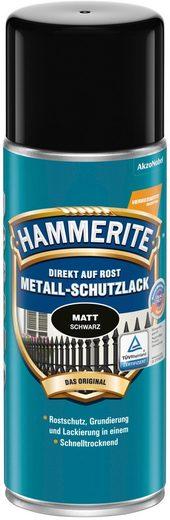 HAMMERITE Metallschutzlack »Sprühdose«, schwarz, matt, 400 ml