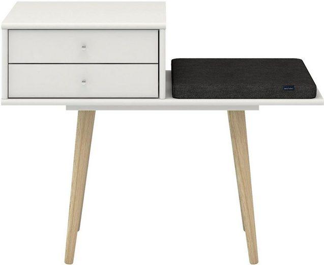 hammel® Bank »MISTRAL« mit Schubladen und 1 Sitzkissen, Breite 89 cm