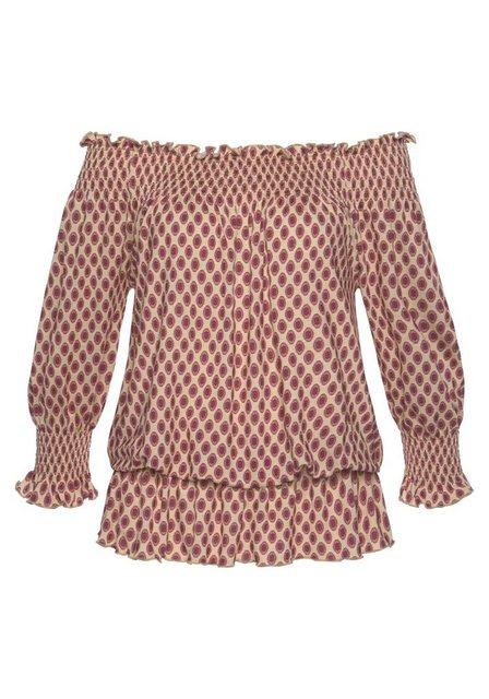 LASCANA Carmenshirt | Bekleidung > Shirts > Carmenshirts & Wasserfallshirts | Lascana