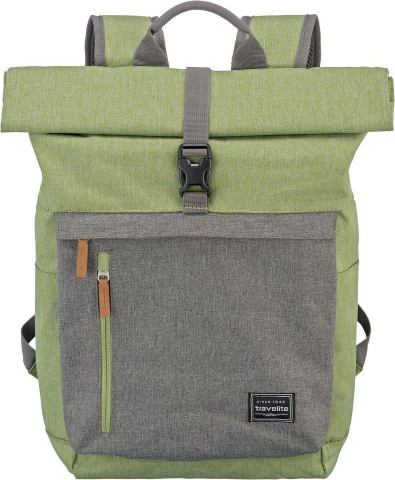 travelite rucksack mit 15 6 zoll laptopfach basics. Black Bedroom Furniture Sets. Home Design Ideas