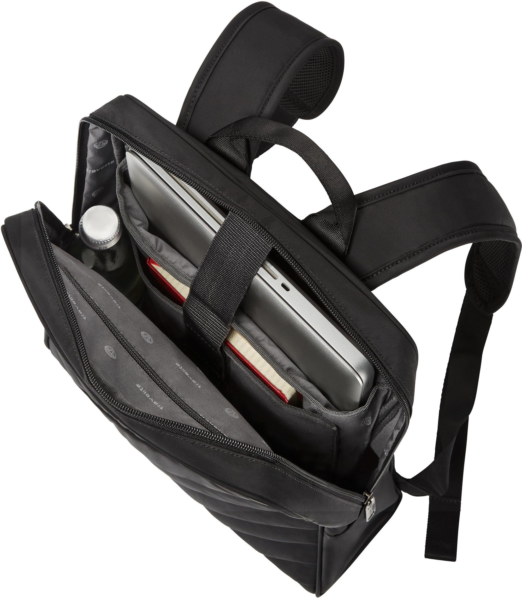 Rollenset3 TlgMit TrolleyRucksack Kaufen Kofferset »jade«4 Und Travelite Online Umhängetasche 5R4AL3j