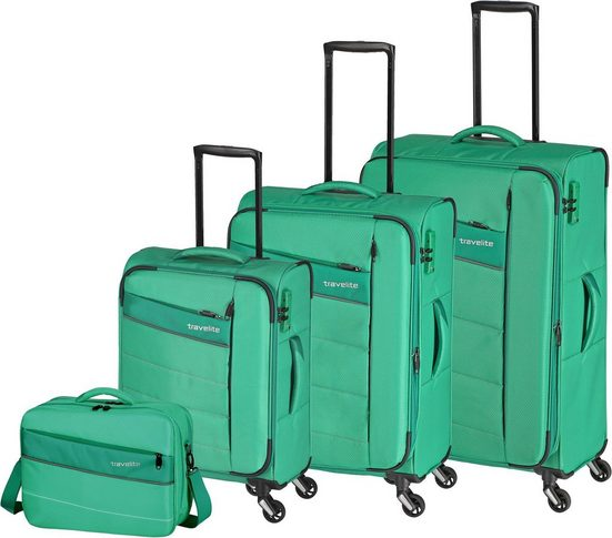 travelite Trolleyset »Kite«, 4 Rollen, (Set, 4 tlg)