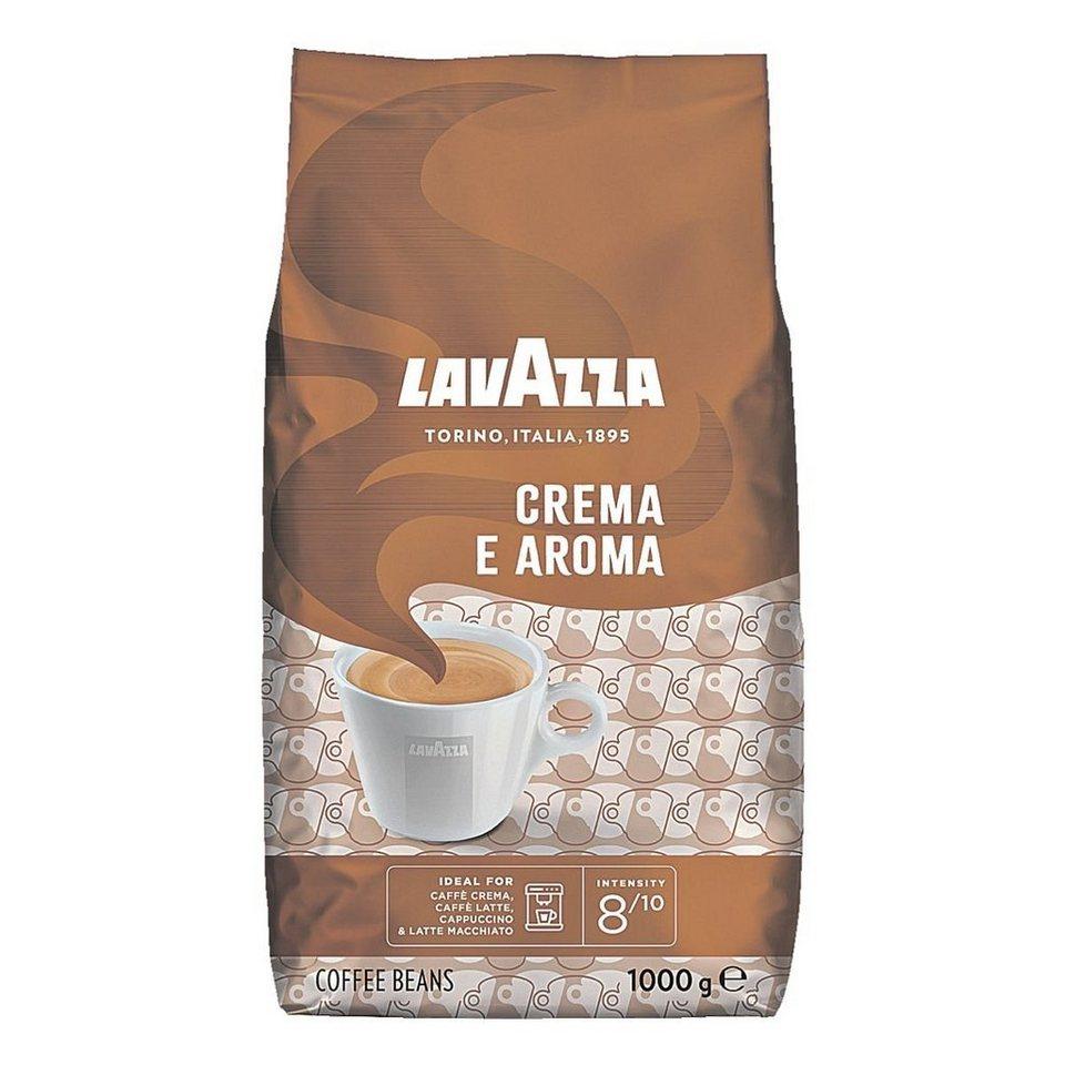 lavazza kaffee ganze bohnen 1000 g crema e aroma. Black Bedroom Furniture Sets. Home Design Ideas
