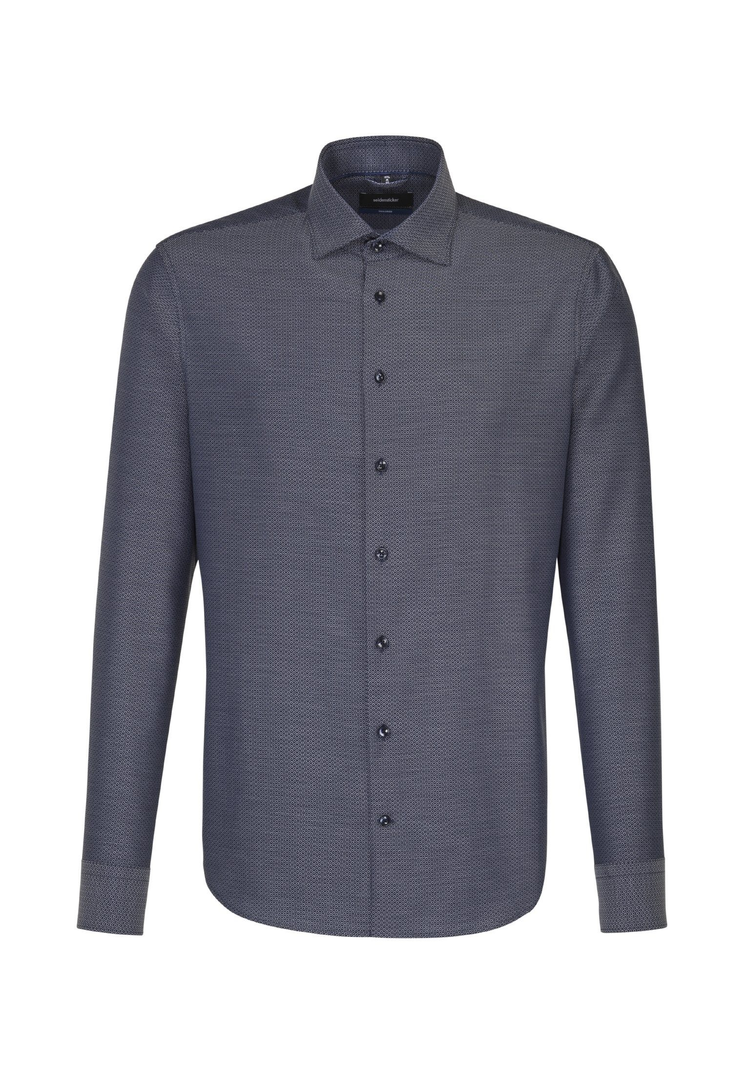 seidensticker Businesshemd »Tailored« Tailored Langarm Kent-Kragen Uni