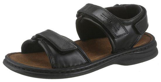 Josef Seibel »Rafe« Sandale mit weich gepolsterter Lederdecksohle