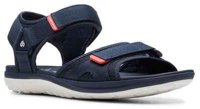 7d8bd885a5c4ef Clarks »Step Beat Sun« Sandale mit verstellbaren Klettverschlüssen