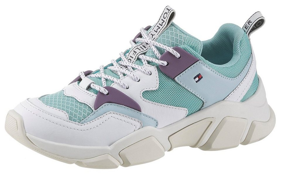 2bfb11657e7d0b TOMMY HILFIGER »WMNS BILLY IC« Keilsneaker in toller Farbkombination ...