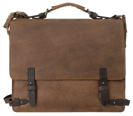 »leado« Vegetabil Gegerbt Bag Messenger Harold's qORYFF