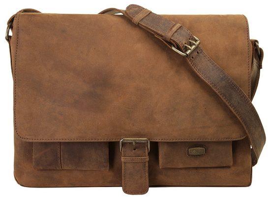 Bag Harold's »antic« Gegerbt Vegetabil Messenger zppZqAvw