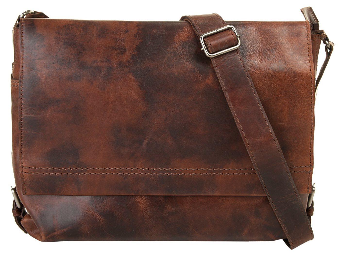 Harold´s Messenger Bag »SADDLE«, vegetabil gegerbt | Taschen > Business Taschen > Messenger Bags | Braun | Harold´s
