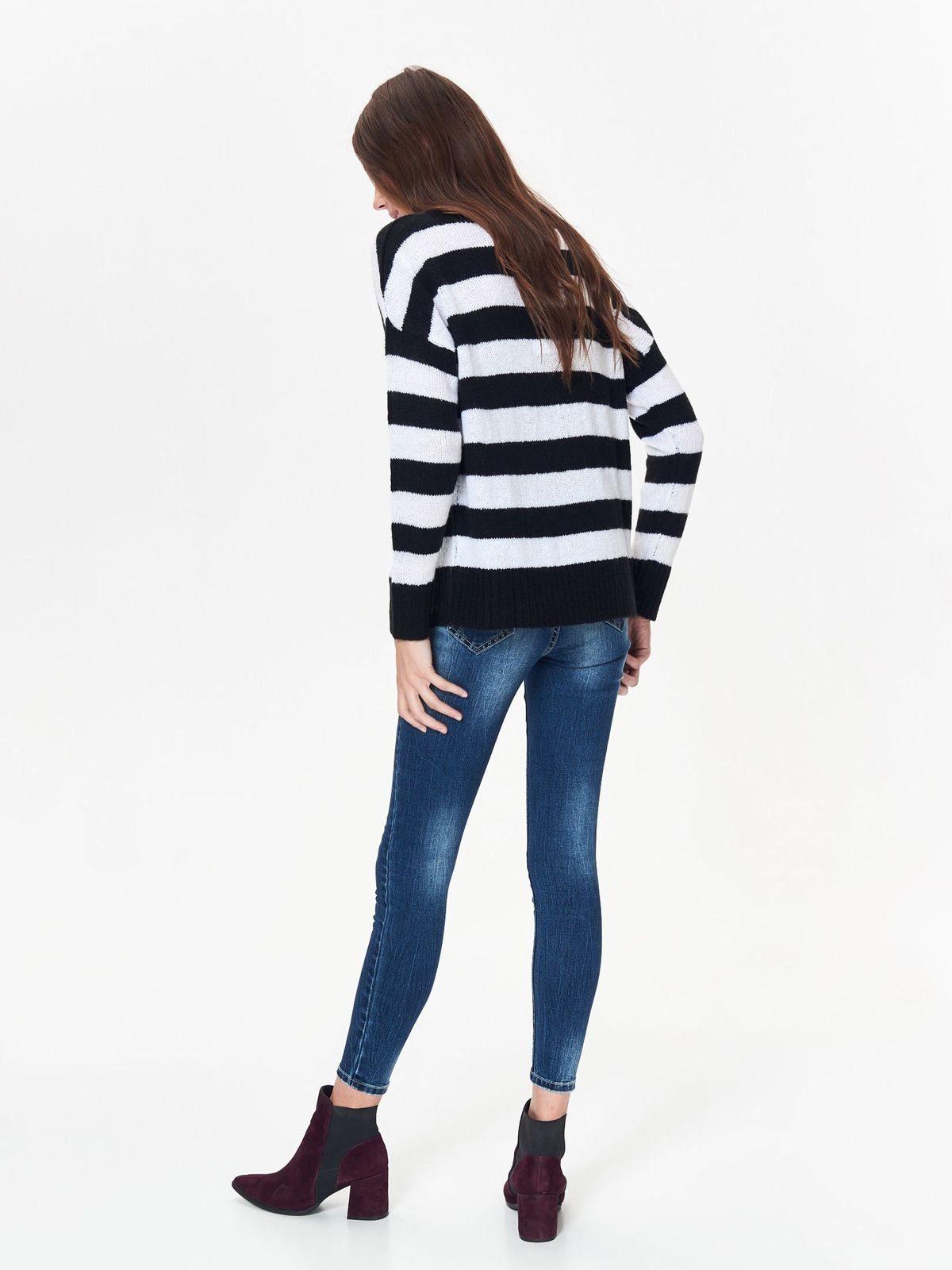 Pullover design Streifen Modischem In Top Secret tQCrxshd