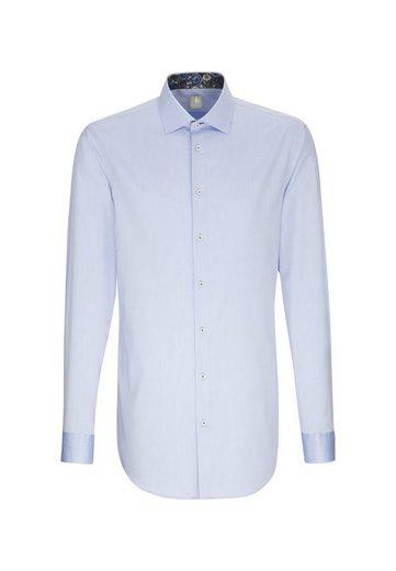 Jacques Britt Businesshemd »Slim Fit« Slim Fit Extra langer Arm Kentkragen Uni