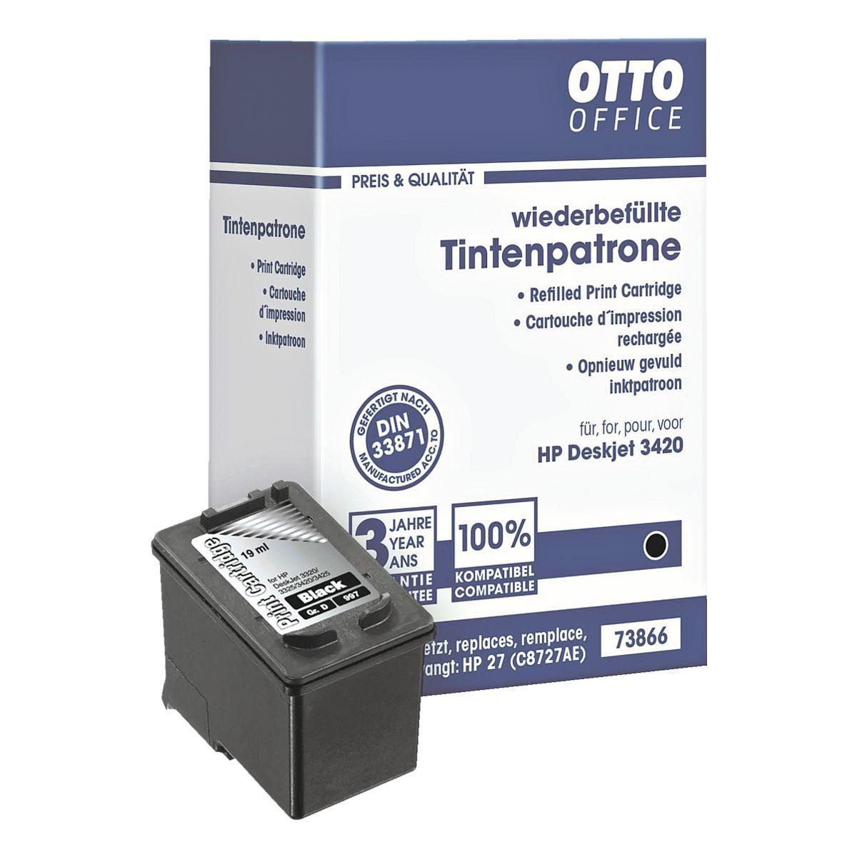 OTTO Office Standard Tintenpatrone ersetzt HP »C8727AE« Nr. 27