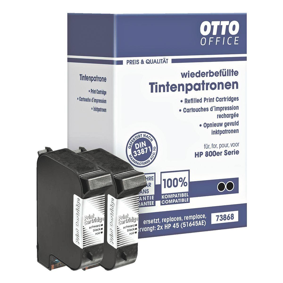 OTTO Office Standard Doppelpack Tintenpatronen ersetzt HP »51645A« Nr. 45