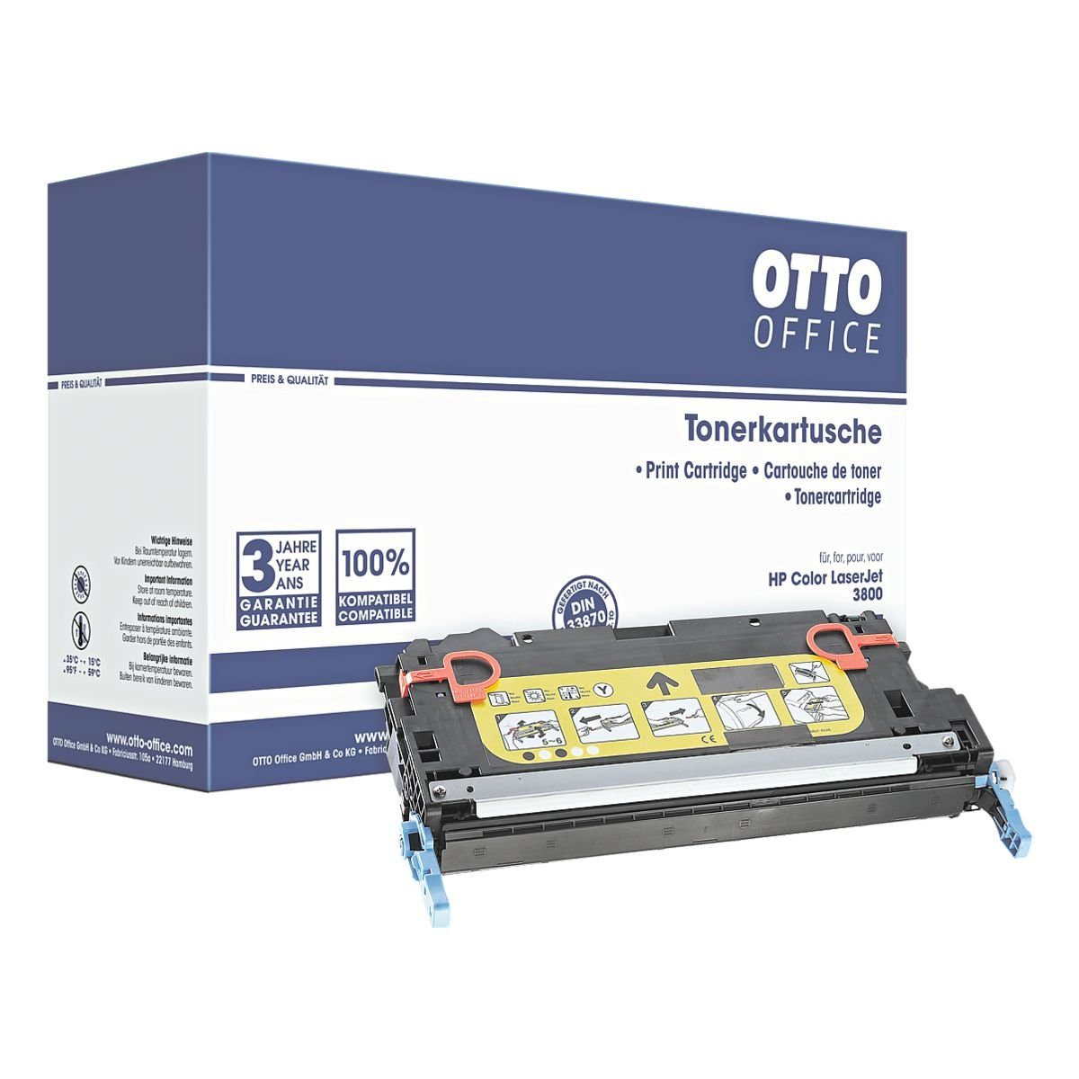 OTTO Office Tonerpatrone ersetzt HP »Q7582A« Nr. 503A