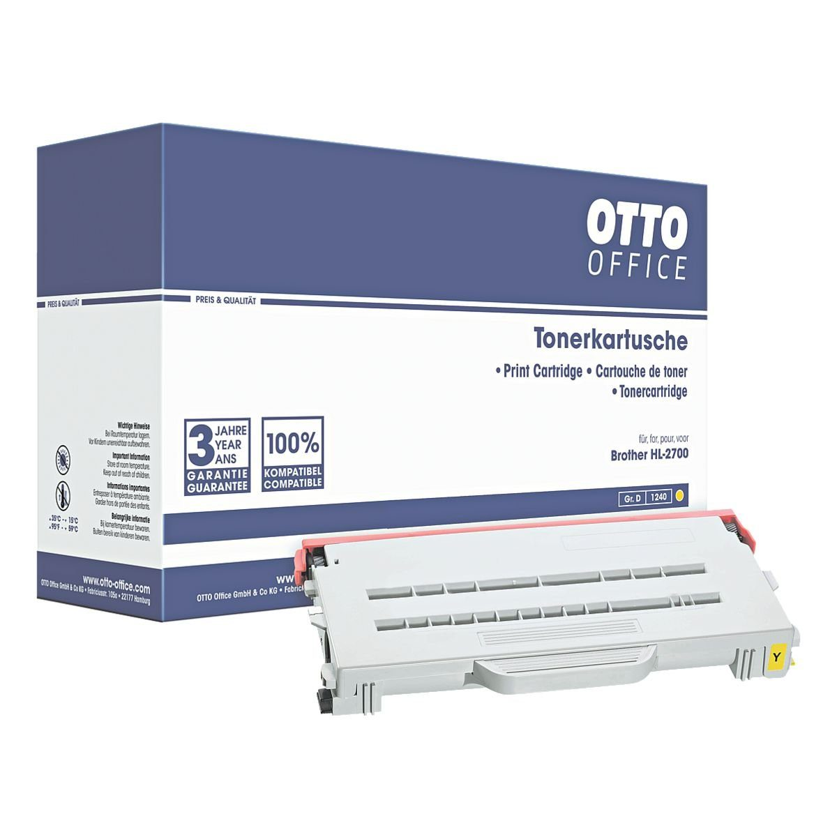 OTTO Office Standard Tonerpatrone ersetzt Brother »TN-04Y«