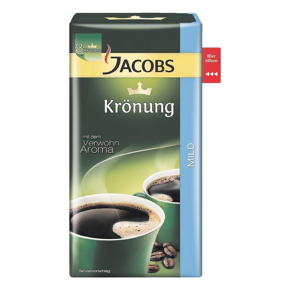 jacobs kaffee gemahlen kr nung mild kaufen otto. Black Bedroom Furniture Sets. Home Design Ideas